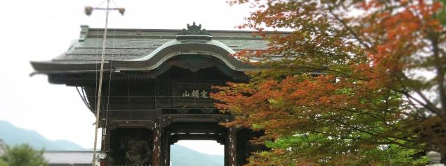 善光寺を眺めてホームページ制作