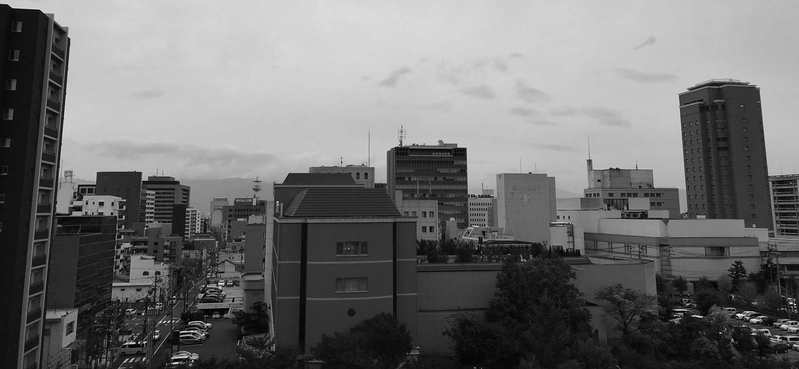 長野市ウェブ制作会社からの風景