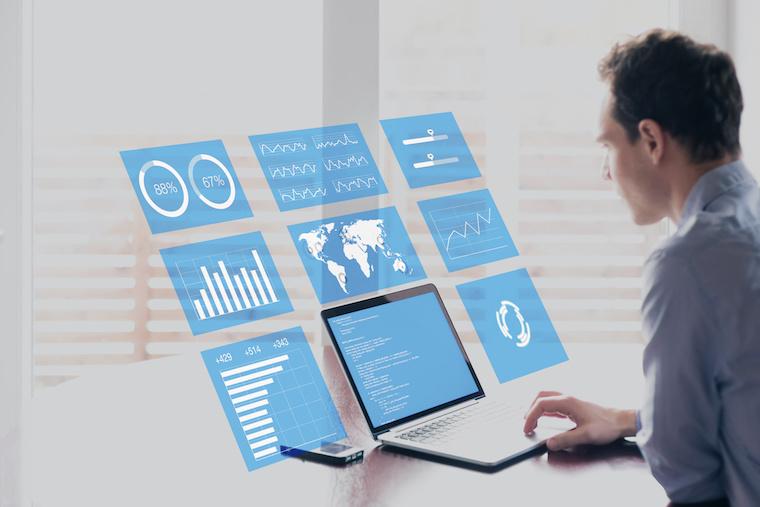 業績拡大のための仕組みができる BIツールとWebの融合